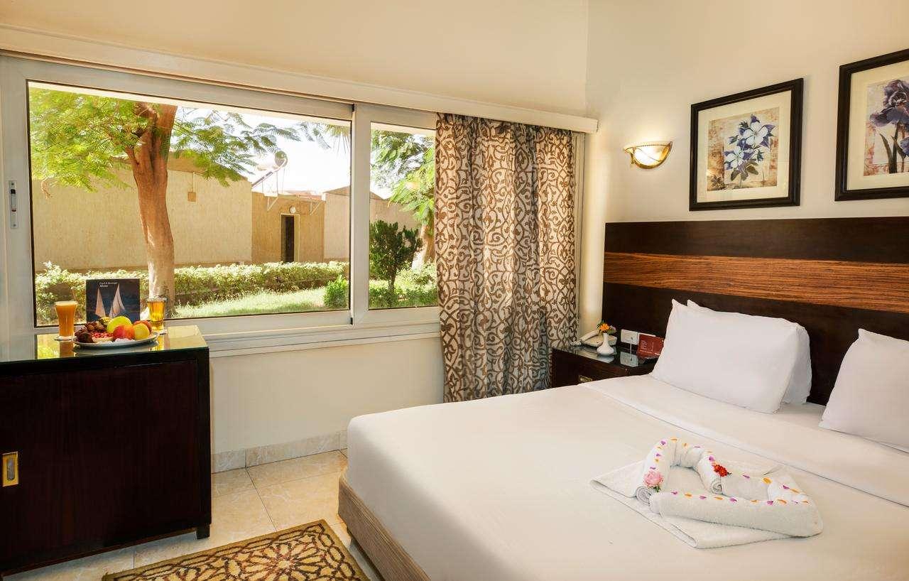 Garden View Room at the Obelisk Nile Hotel